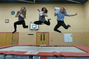 Lincolnshire students are jumping for joy after bucking the national trend and improving attainment at GCSE level