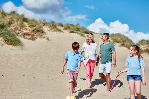 Camber Sands beach is a family favourite.