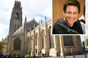 US actor Rob Lowe (inset) is to star in a new ITV crime drama set in Boston.