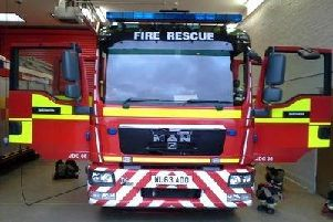 Lincs Fire and Rescue service attended an earlier blaze on Bridge Street