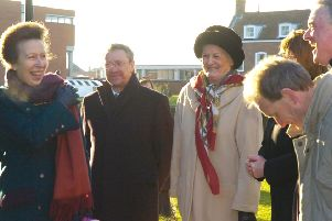 Princess Anne at the Stump 10 years ago.
