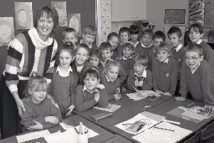 Boston's Park School had a new headteacher 25 years ago. Halifax-born Joyce Wilson said she had been delighted with the glowing welcomed she had received, described it as 'tremendous'.