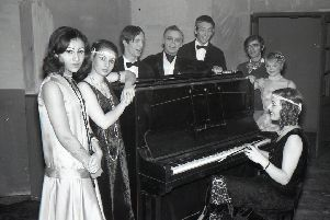The Boston College of Further Education were staging the Noel Coward comedy Hay Fever at Blackfriars Theatre, 50 years ago this week, recreating the 1920s.