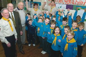 Cubs from 5th Boston Scouts 10 years ago.