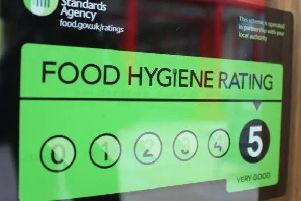 Food hygiene ratings.