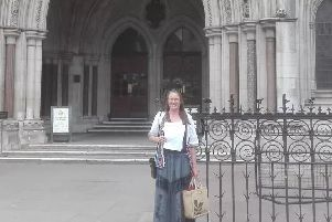 Victoria Harvey at the High Court