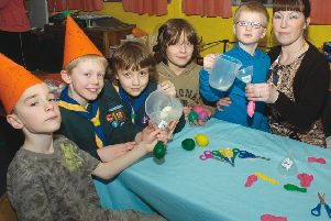 Butterwick Cubs and Beavers 10 years ago.