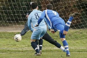 Ickwell v Flitwick. Picture: David Kay