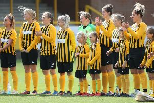 Boston United ladies.