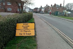 Residents are set to face disruption in Woodville Road, Boston.