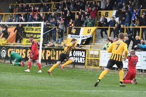 Boston United v Telford.