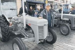 James Potts, of Wyberton, with his 1956 TEF Ferguson tractor. EMN-190403-122308001