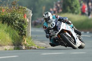 Michael Dunlop has commenced his pre-season testing programme in Spain.