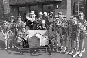 Boston's Haven High was set to stage Bugsy Malone, its first-large scale musical production, 25 years ago. Produced by Adrian Reed, it featured 50 pupils, 80 more from Park and Staniland primary schools, and 84 dancers from the Allen School of Dance.