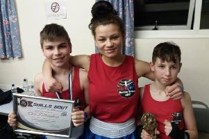 The Boston Town ABC trio at Attleborough.