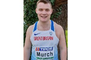 Craig Murch was selected to throw the hammer for Great Britain in Slovakia