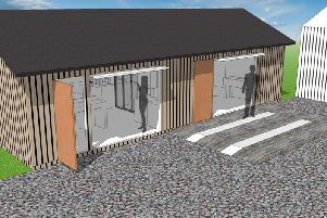 Artist's impression of the Toolshed at the Askefield Project in Friskney