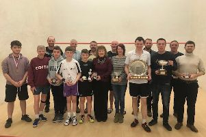 The squash winners.
