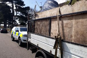 The Rural Crime Team has been tackling fly-tipping