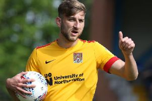 Charlie Goode has started all 15 games since signing for the Cobblers. Picture: Pete Norton