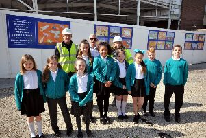 Langney Shopping Centre.'Children from West Rise Junior School visit Langney Shopping Centre.'7th May 2019 SUS-190705-171534001