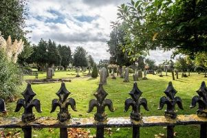 The existing cemetery, off Boston Road. EMN-190417-150647001