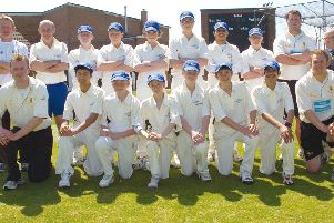 The East Lincs team 10 years ago.