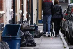 Northampton's residents were handed 72 fines for bins and domestic waste in 2018.