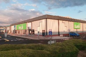 Work has been taking place on the Alban Retail Park for the arrival of Dunelm this summer.