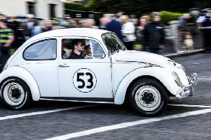 'Herbie' makes an appearance at the Waringstown Vintage Cavalcade.