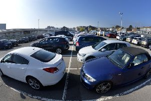 Eastbourne Railway Station Car Park (Photo by Jon Rigby) SUS-181110-102834008
