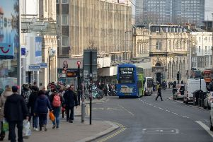 The alleged assault happened in North Street, Brighton