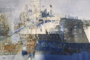 One of John Green's paintings
