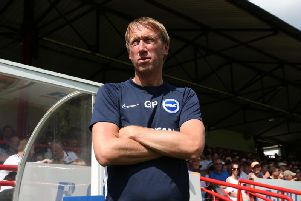 Graham Potter has competition for places (Phil Westlake)
