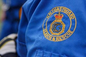 Coastguards from Skegness and Mablethorpe assisted in a rescue off Ingoldmells.