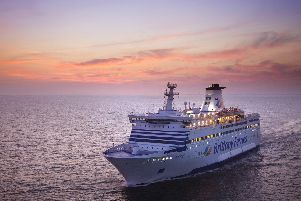 Brittany Ferries are in the running to win the government's new post-Brexit contract to import medicines into the UK. Photo pictures the ferry firm's ship, Bretagne
