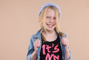 Hannah Conway, eight, will represent West Sussex in Little Miss International Rose 2019