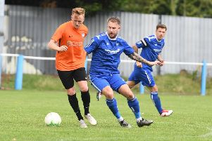 Lee Beeson was on target against Lutterworth.