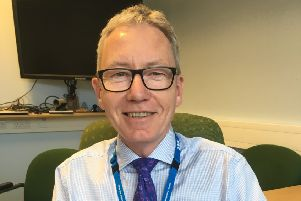 Andrew Morgan, CEO at the United Lincolnshire Hospitals NHS Trust.