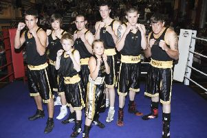 Boston Amateur Boxing Club members 10 years ago.