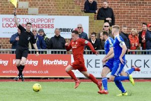 Former Worthing loanee Reece Meekums has joined National League Bromley. Picture by Stephen Goodger