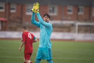 Goalkeeper Lucas Covolan's Worthing future looks in further doubt after the club snapped up Brighton youth stopper Tom McGill on a season-long loan deal. Picture by Marcus Hoare