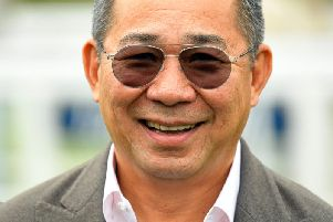 Vichai Srivaddhanaprabha pictured at Salisbury Racecourse in September. Picture by Malcolm Wells / Picture Exclusive.com