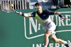 Andy Murray. Picture by Jon Rigby