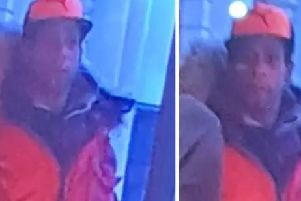 Police released CCTV of a man they wish to speak to after the assault