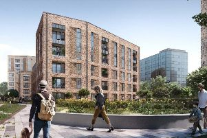 An artist's impression of the proposed Lyons Close development