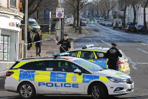 Police sealed off Elm Grove on Sunday morning after the stabbing