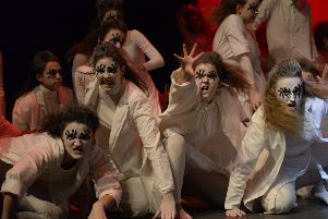 The Angerming School at the Global Rock Challenge. By Nick Scott Photography SUS-190227-085835001