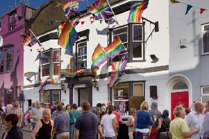 Pride Street Party image licensed by Creative Commons by Dominic Alves from Flickr