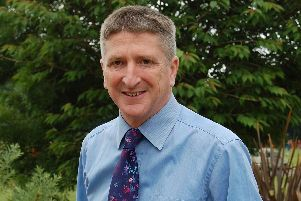 Richard Bradford, headteacher at Dorothy Stringer
